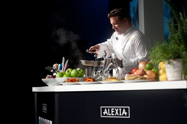Alexia and Tyler Florence