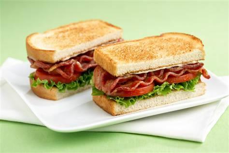 Classic American BLT Sandwich