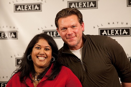 Tyler Florence and winning blogger