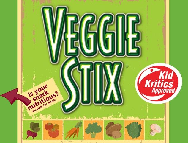 Veggie Stix Hits Store Shelves