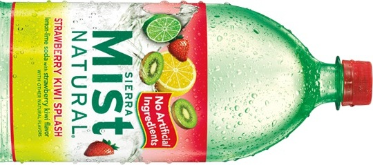 Sierra Mist Natural Strawberry Kiwi Splash