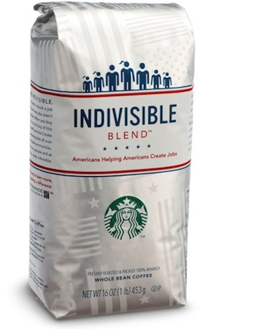 Starbucks Collection Benefits Create Jobs for USA Fund