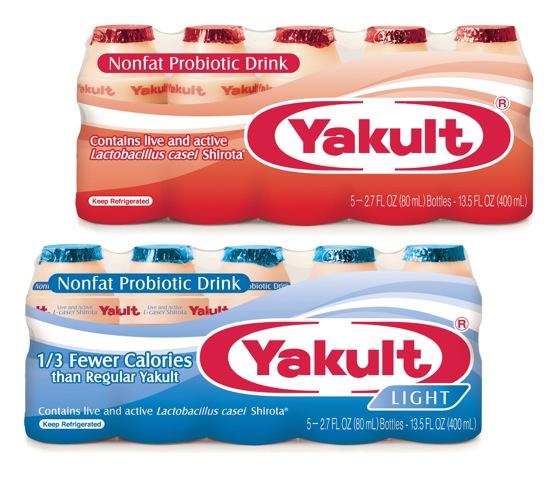 Yakult U.S.A. Inc. Yakult Light, lower calorie beverage