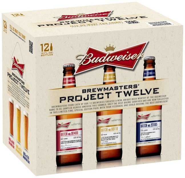 Budweiser Project 12 sampler pack