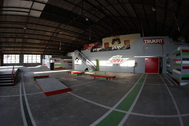 Mountain Dew Skate Park in New Orleans