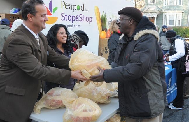 Stop & Shop turkeys