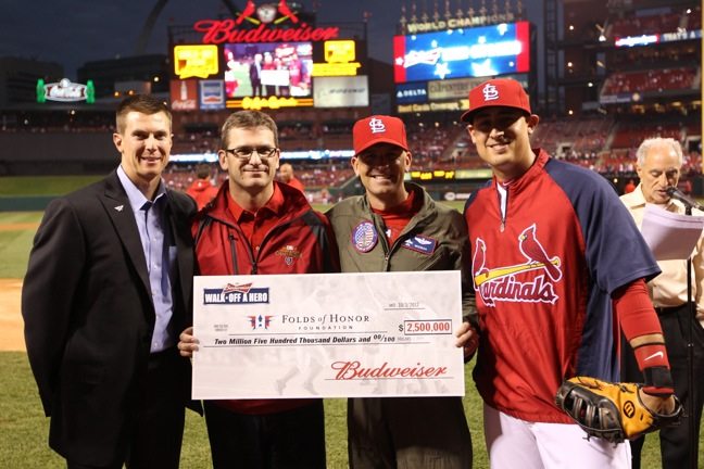 Bud walk-off donation to FHF