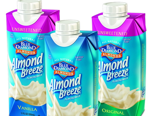 Almond Breeze single serve packs