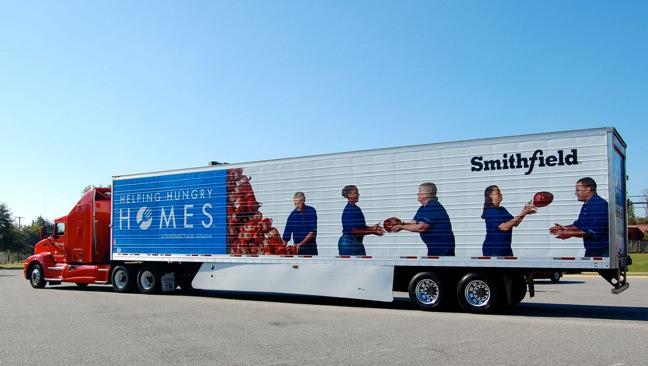 Smithfield Hurricane Sandy disaster relief