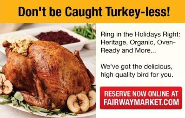 Fairway turkey promotion