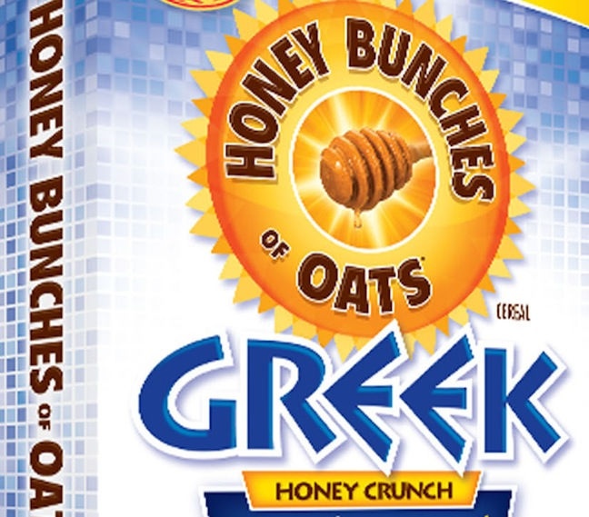 POST FOODS, LLC GREEK HONEY CRUNCH