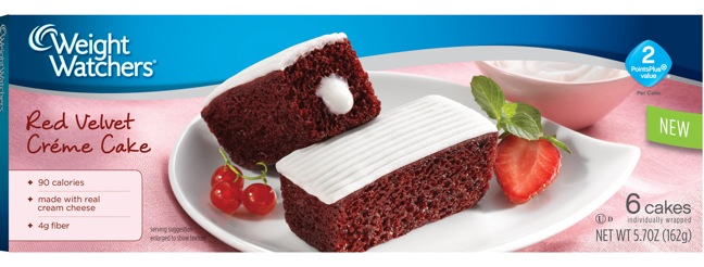 Weight Watchers Red Velvet Cakes