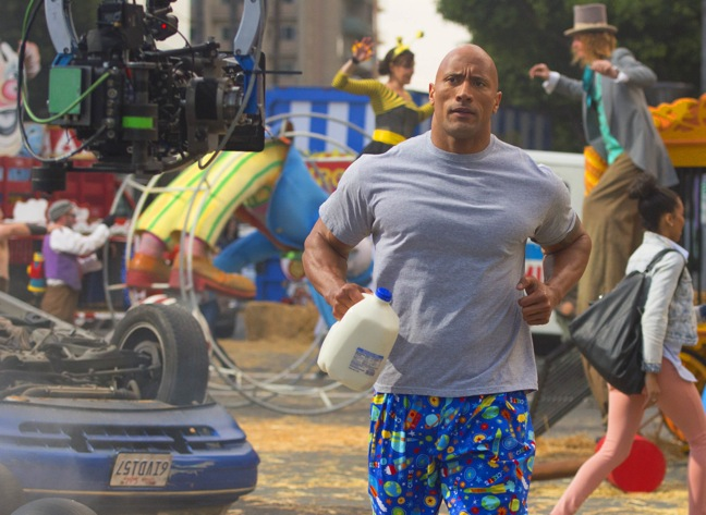 Got Milk? Super Bowl ad with The Rock