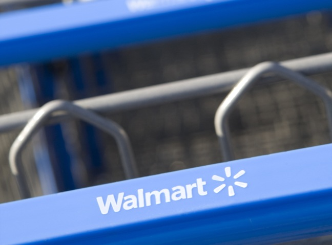 Walmart shoppping cart