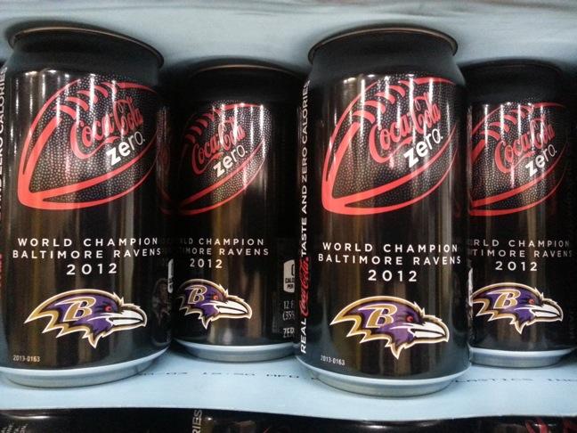 Coke Zero-Baltimore Ravens can
