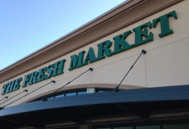 The Fresh Market signage, SMG
