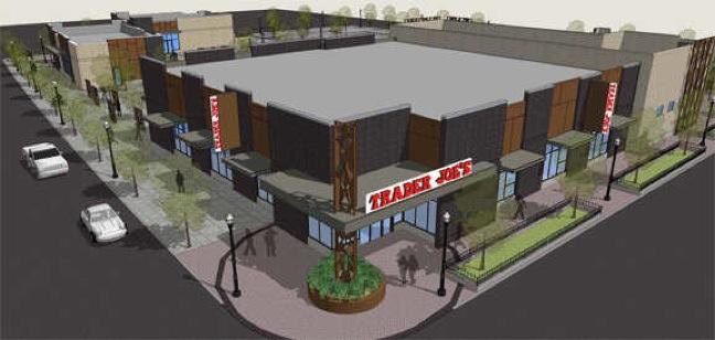 Trader Joe's rendering for Boise