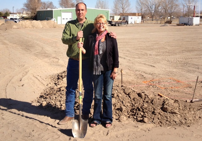 Hi Mountain Seasonings ground breaking with Hans and Kimberly Hummel
