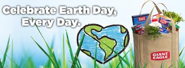 Giant Eagle Earth Day art