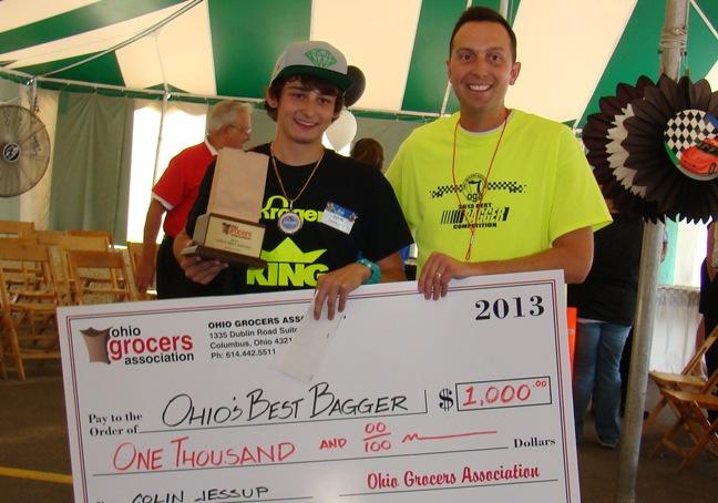 2013 Best Bagger Winner