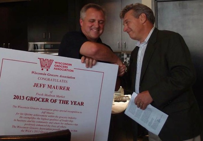 WGA's 2013 Grocer of the Year Maurer