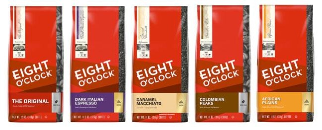 Eight O'Clock Coffee Unveils New Look, Contemporary Varieties