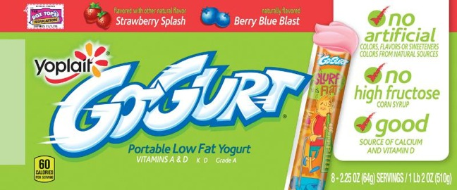 YOPLAIT GO GURT