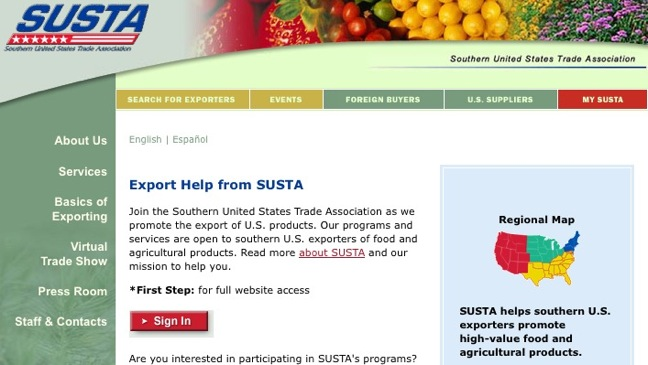 SUSTA screenshot