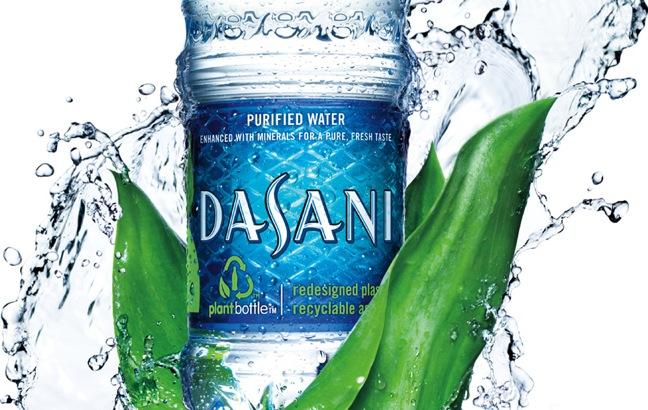 dasani bottle water