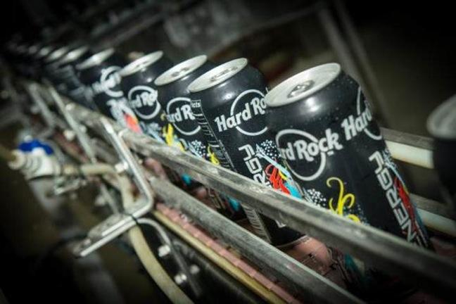 Hard Rock Energy Drinks