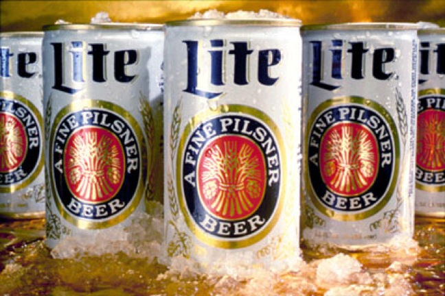 Original Miller Lite Cans