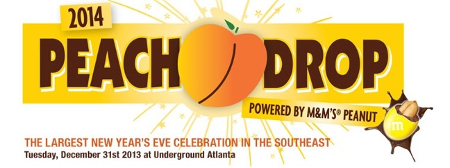 Peach Drop powered by M&Ms peanuts