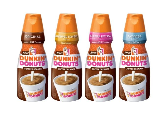 Dunkin' Donuts Coffee Creamers