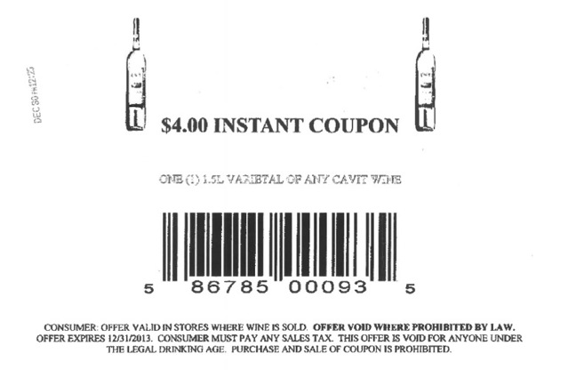 fradulent coupon