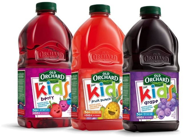 OLD ORCHARD BRANDS OLD ORCHARD FOR KIDS LINE