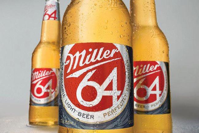 Miller 64 bottles