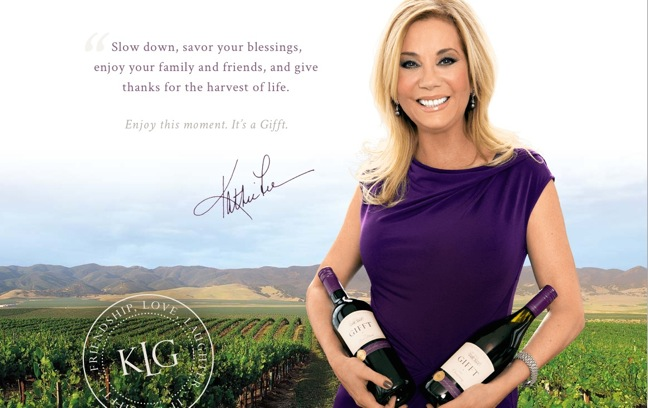 Kathie Lee wine line