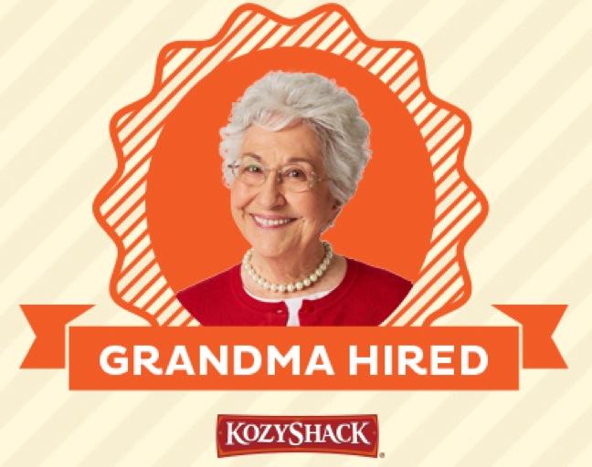 Kozy Shack's Official Grandma Marilyn Cisek