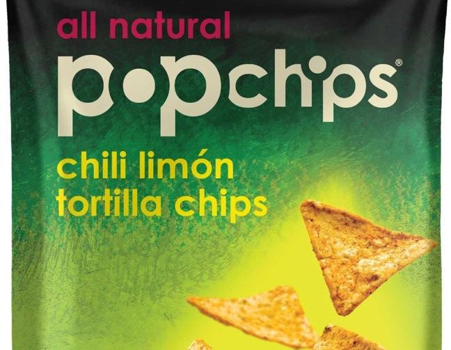 Popchips chili limon tortilla chips