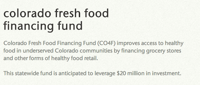 colo. fresh foods screen shot