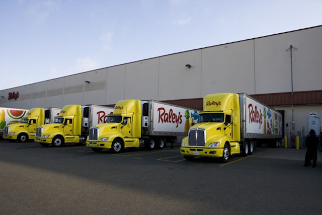 Raley's trucks at DC