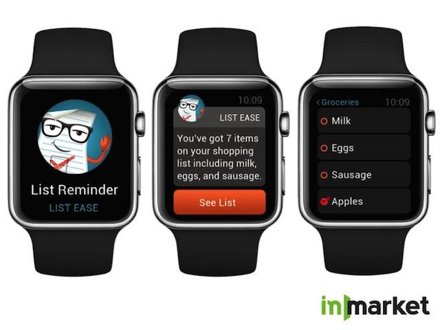 inMarket Apple Watch
