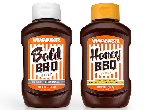 H-E-B WHATABURGERBBQ Bottles