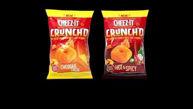 Kellogg Company Cheez-It Crunch'd Bags