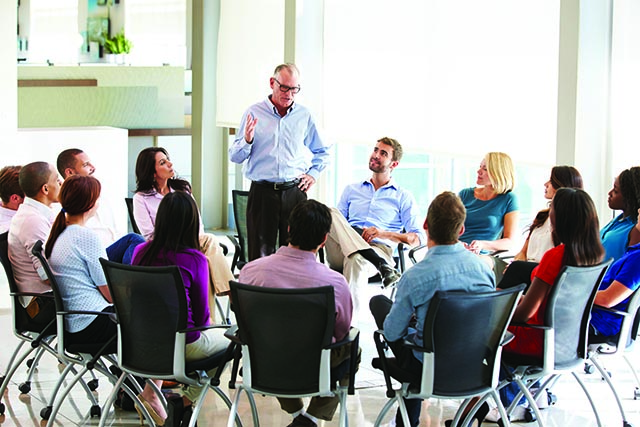 If your company does not arrange for a member of senior management to spend time with new hires during basic training you are missing an opportunity.