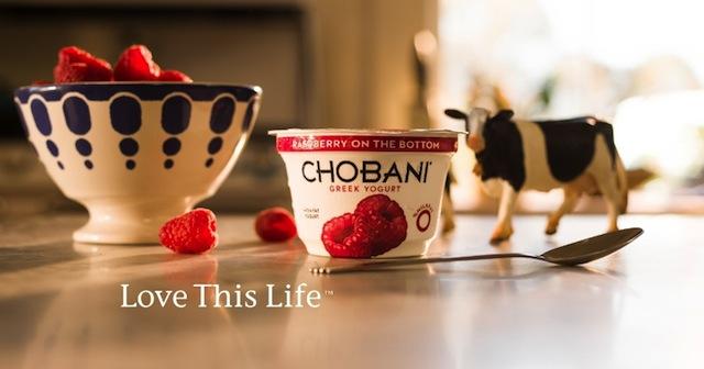 Chobani Raspberry Cow Love This Life