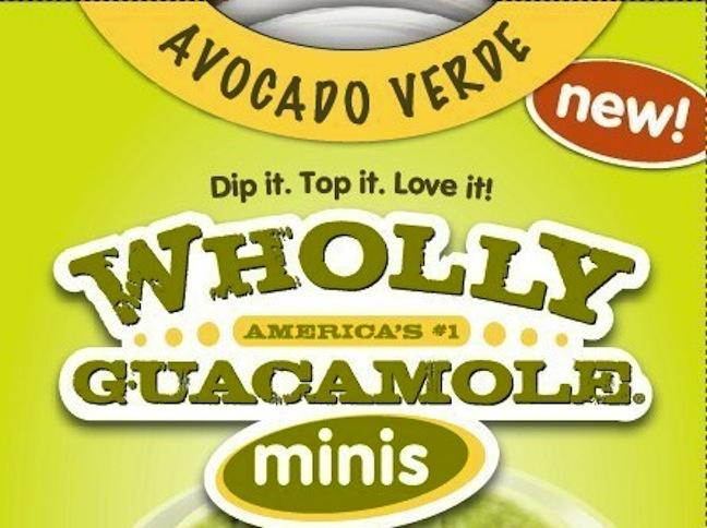 Wholly Guacamole Unveils Avocado Verde 45-Cal Minis
