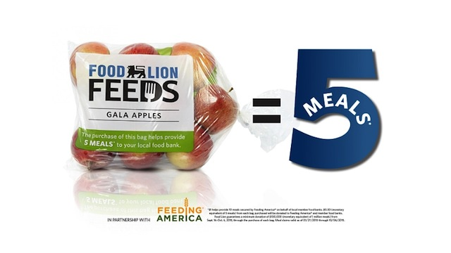 Food Lion Feeds Apples