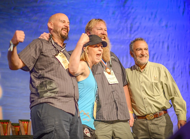 Winners at the 2015 Great American Beer Festival competition. (Photo courtesy of the Brewers Association)