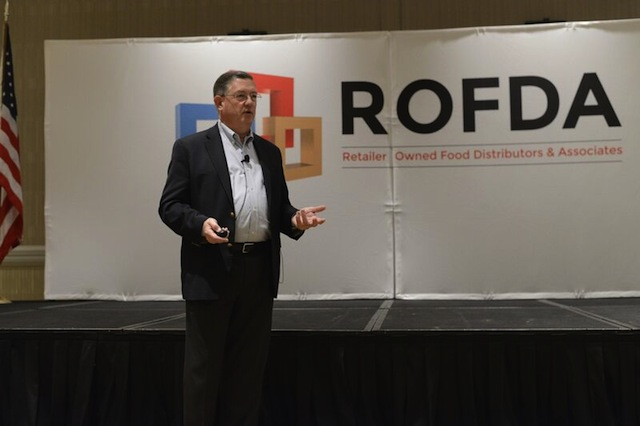 Peter Larkin at the ROFDA 2015 Fall Conference.